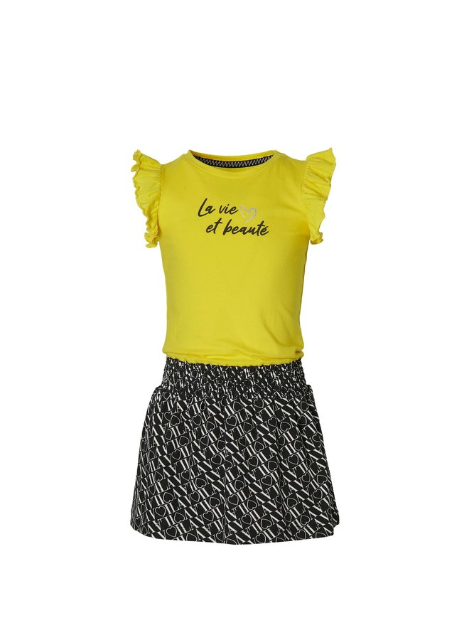 Falijne - Dress - Summer Yellow