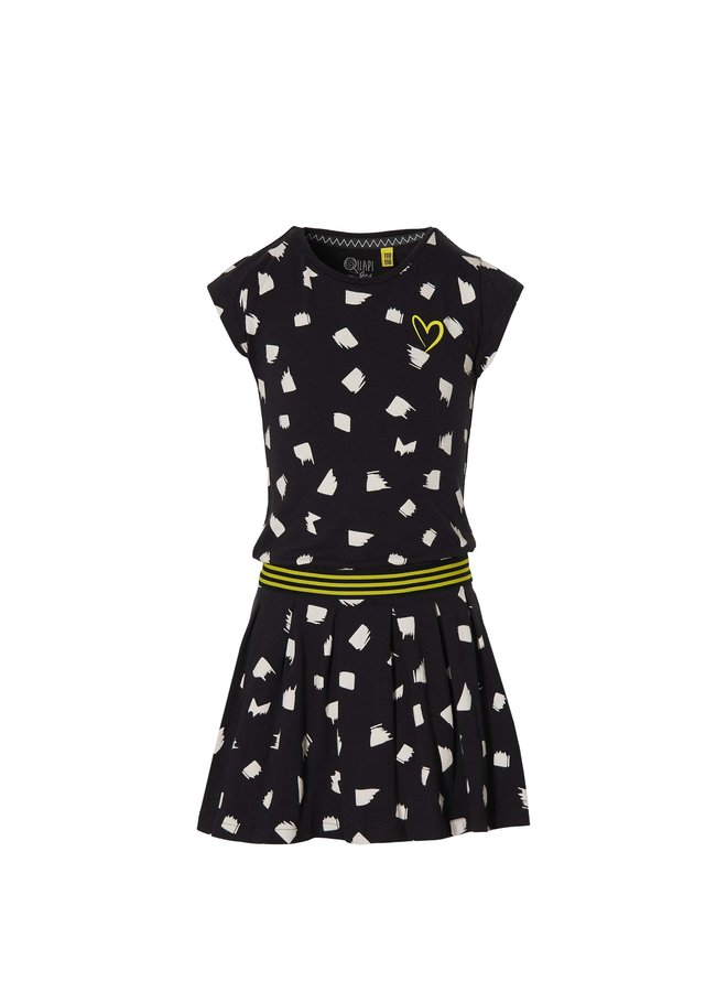 Fabia - Dress - Black Dot