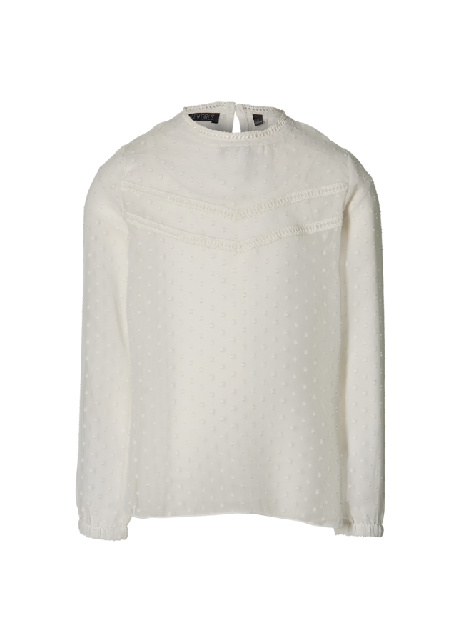 Marion - Blouse - Off White