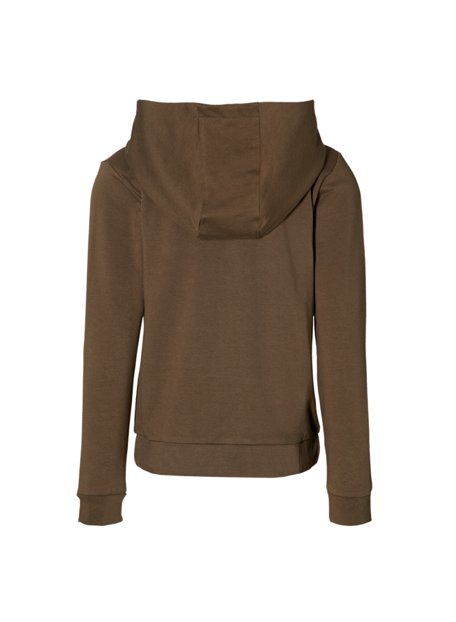 Mees - Hooded Cardigan - Olive