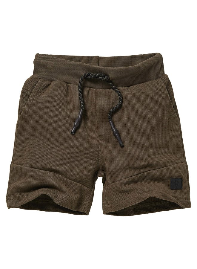 Niels - Sweatpants Short - Olive