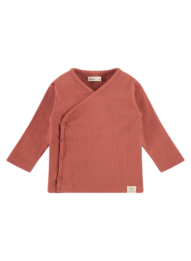 Baby T-shirt Longsleeve - Indian Red SS21