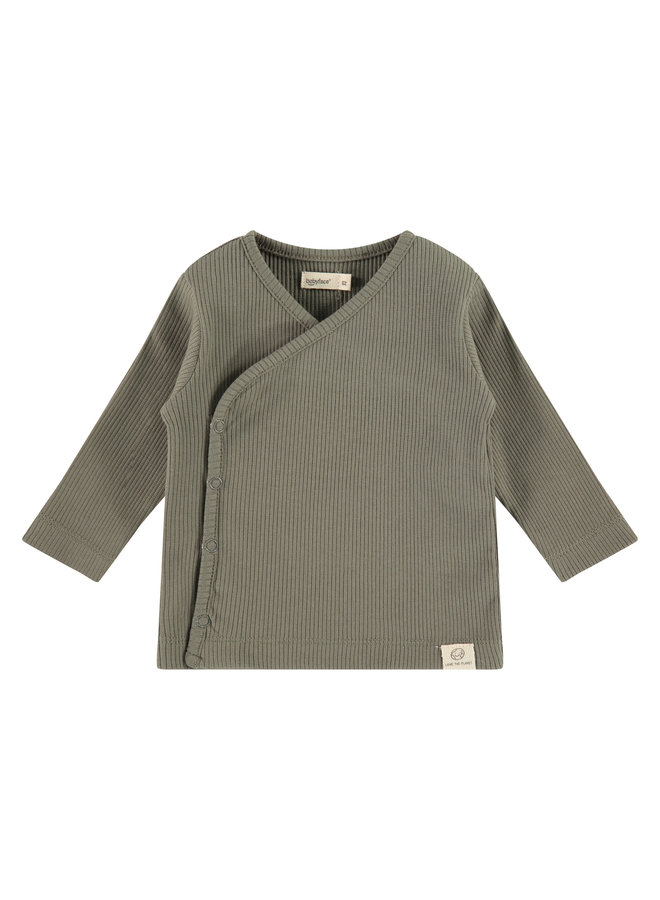 Baby T-shirt Longsleeve - Olive Green SS21