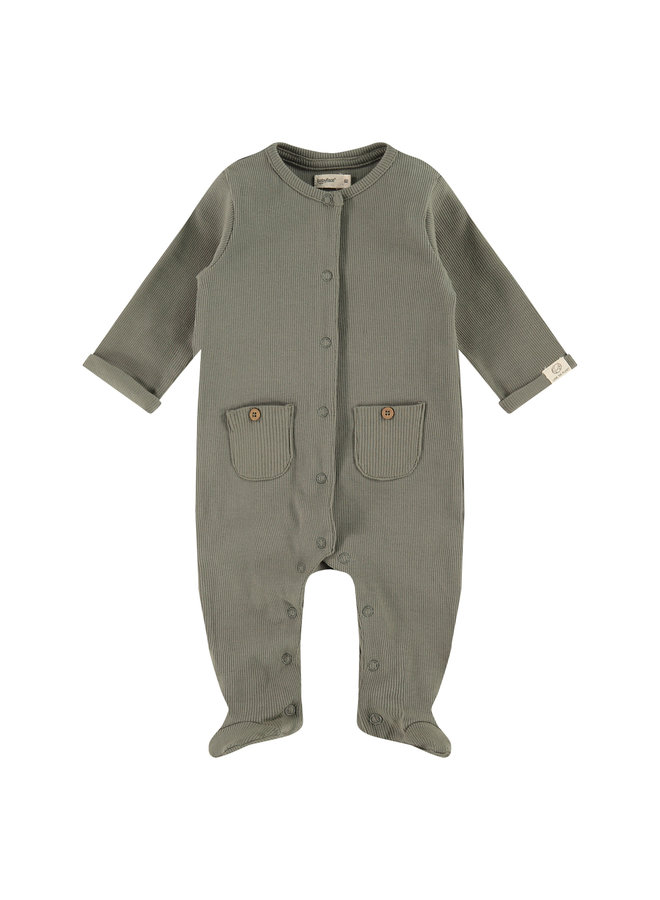 Baby Suit - Olive Green SS21