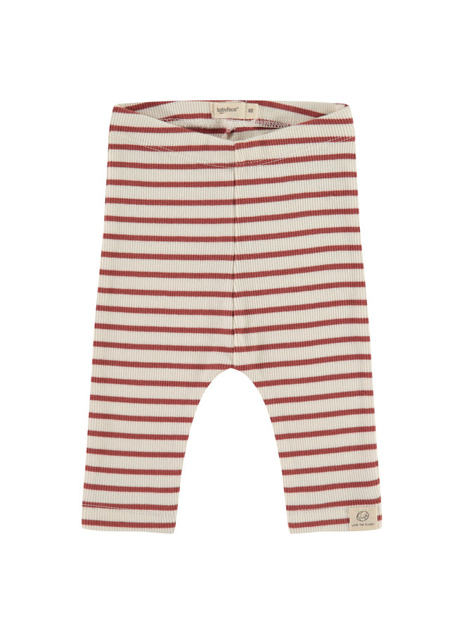 Baby Pants - Stripe - Indian Red SS21