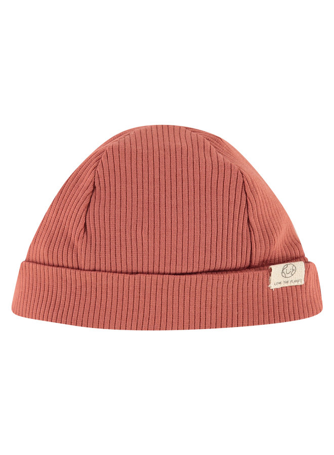 Baby Hat - Indian Red