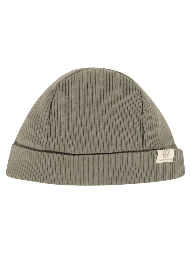 Baby Hat - Olive Green