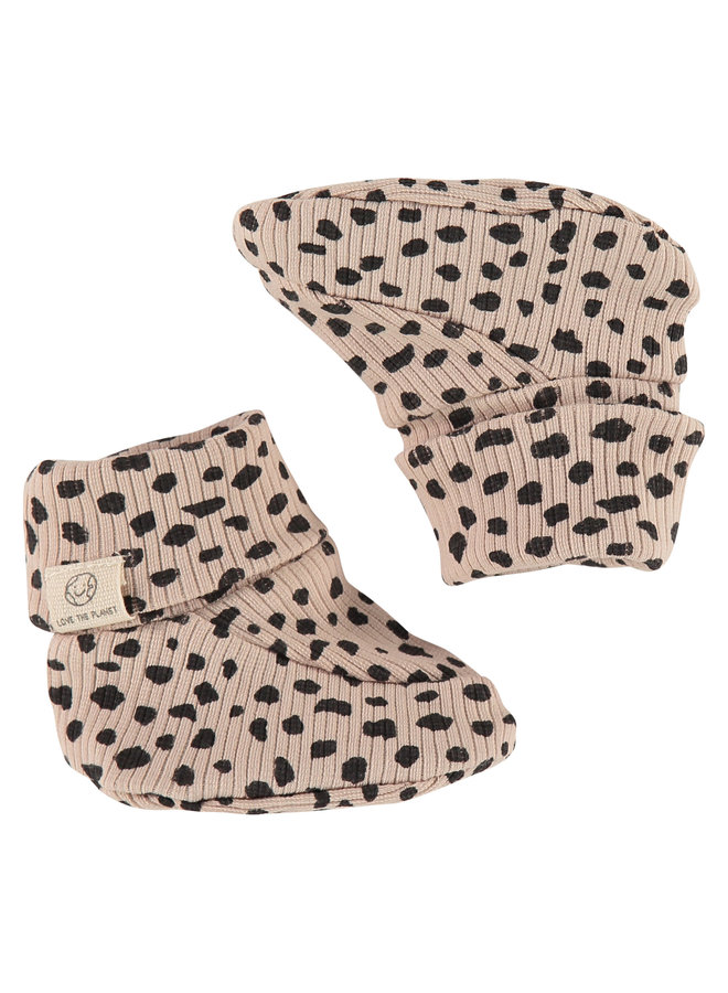 Baby Slippers - Seashell