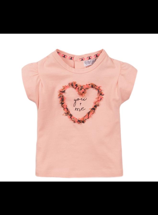 T-shirt ss - Smokey Pink SS21