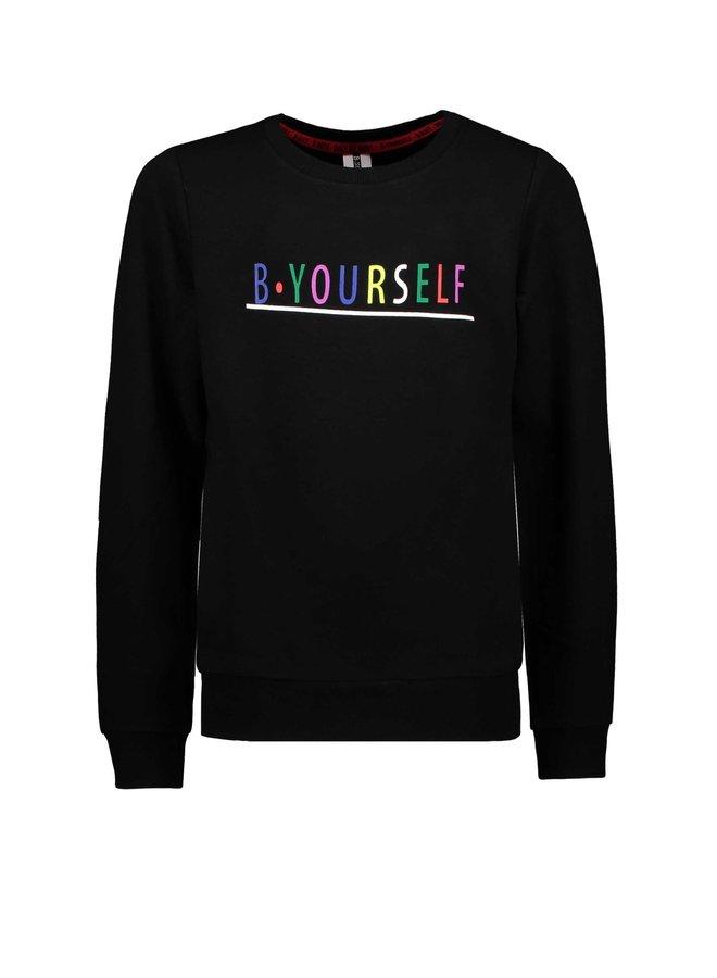 B.Yourself - Sweater - Black