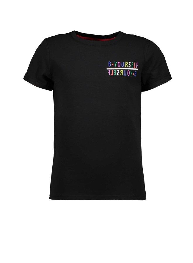 B.Yourself - Short sleeve t-shirt - Black