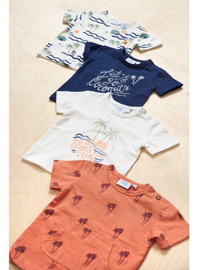 T-shirt Coconuts - Here Comes The Fun - Marine
