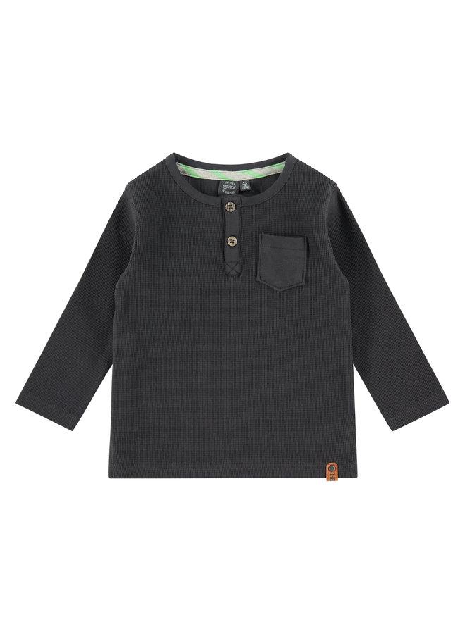 Boys T-shirt Long Sleeve - Dark Grey SS21