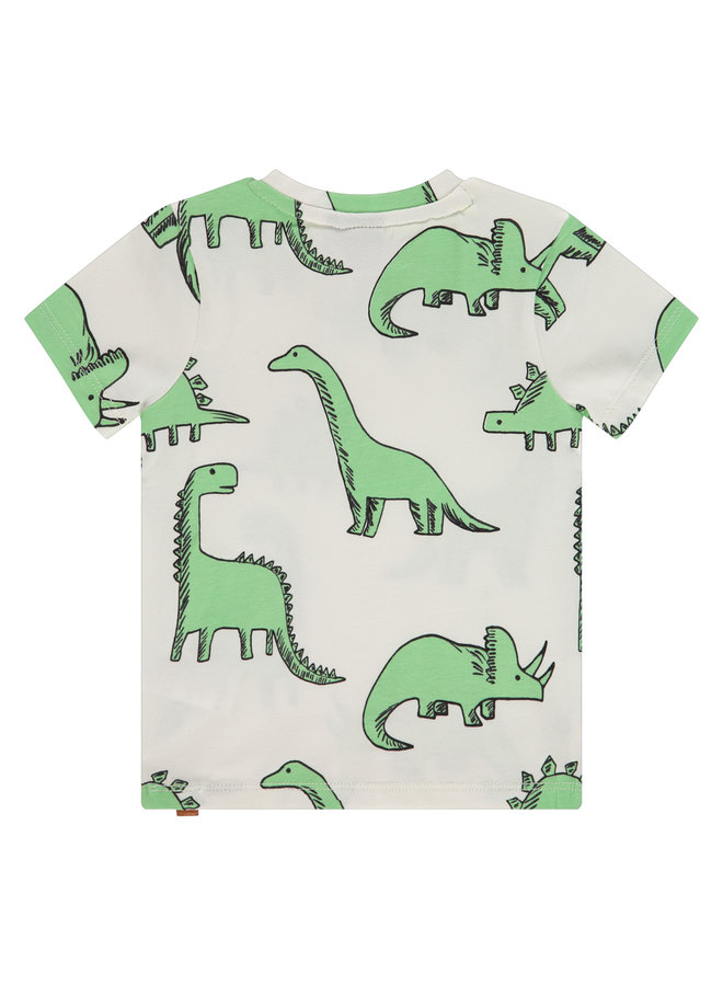Boys T-shirt Short Sleeve - Offwhite SS21
