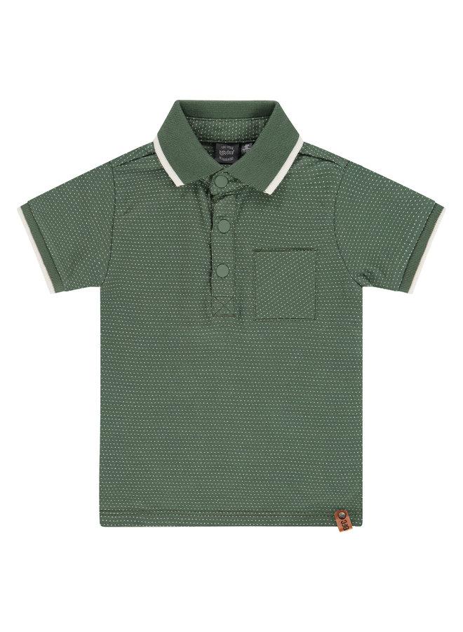 Boys Polo Short Sleeve - Army SS21