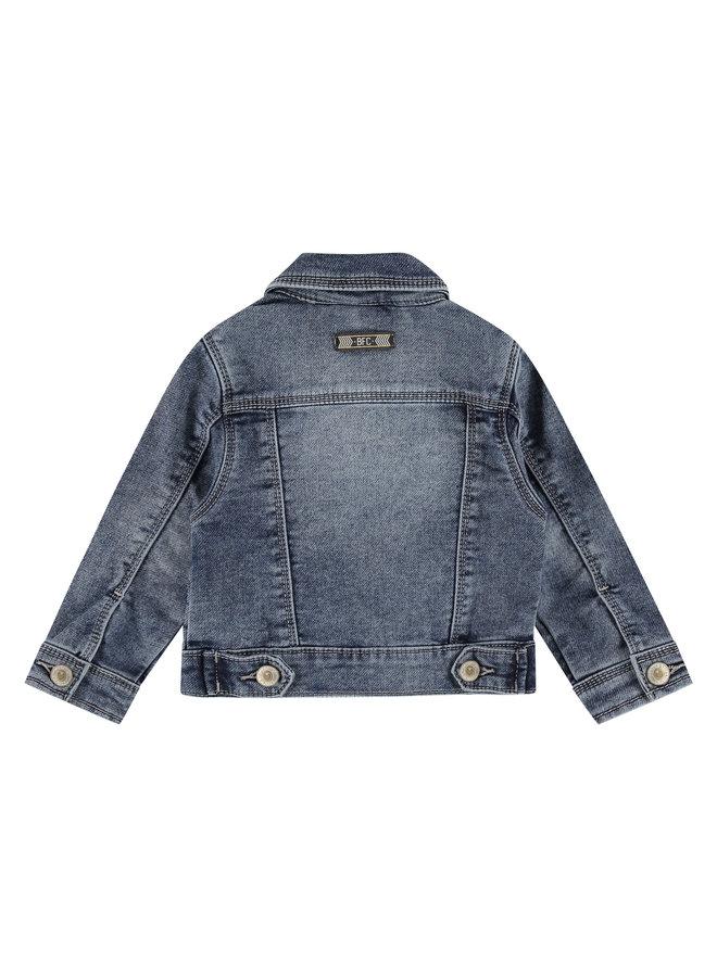 Girls Jeansjacket - Blue Grey Denim SS21