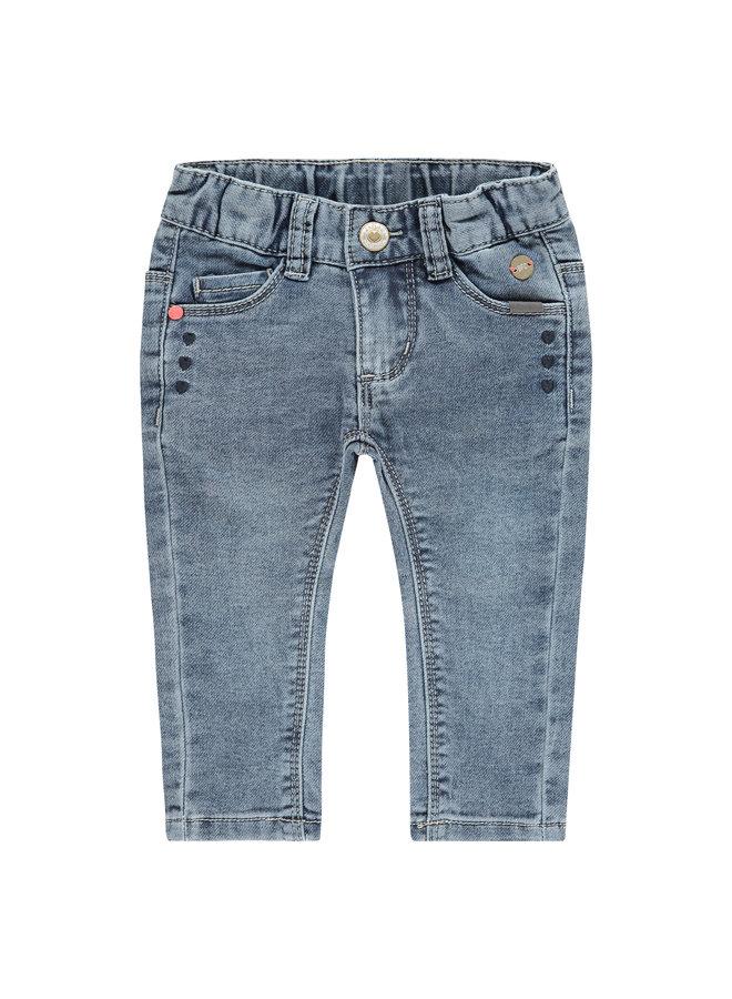 Girls Jogg Jeans - Blue Grey Denim SS21