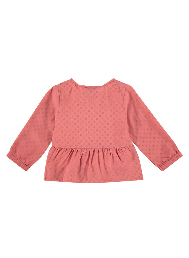 Girls Blouse - Faded Rose SS21