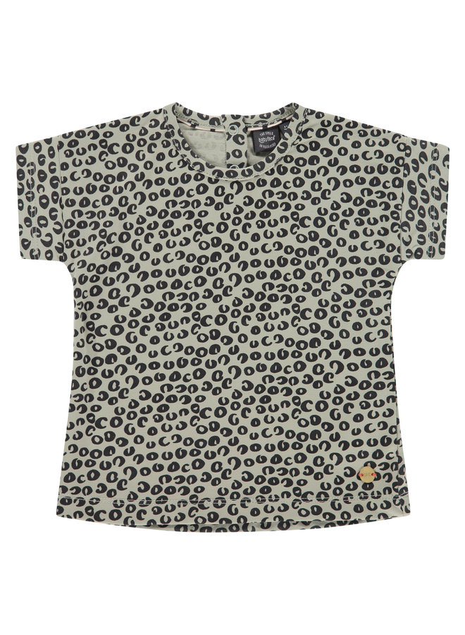Girls T-shirt Short Sleeve - Olive SS21