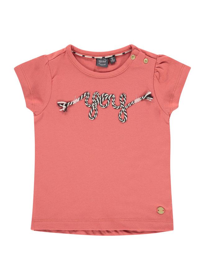 Girls T-shirt Short Sleeve - Faded Rose SS21