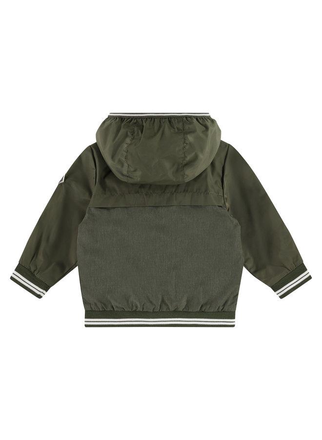 Boys Summerjacket - Green Army SS21