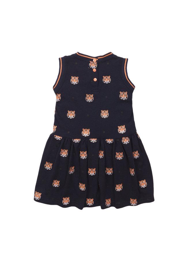 Girls Dress Sleeveless - Navy SS21