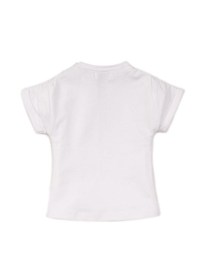 Girls T-shirt ss - White SS21