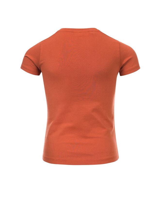 T-shirt ss - Brick