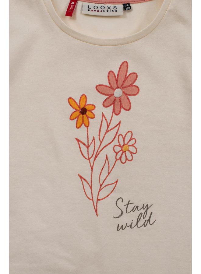 T-shirt ss - Milk