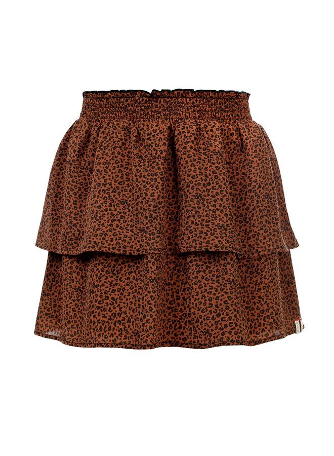 Skirt - Mini Leopard