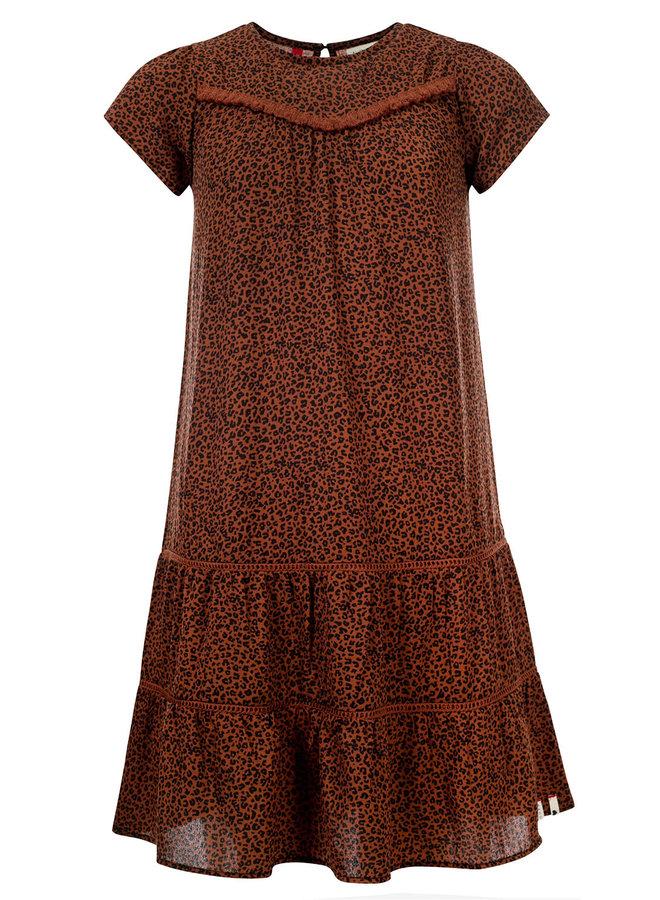 Dress - Mini Leopard