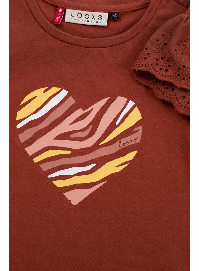 T-shirt ss - Pecan