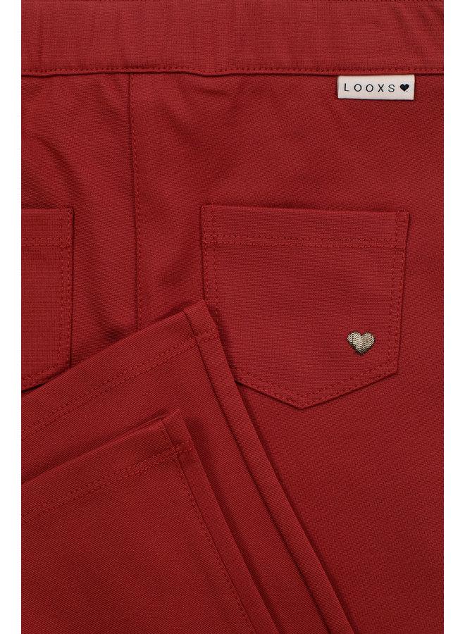 Flair Pants - Brick