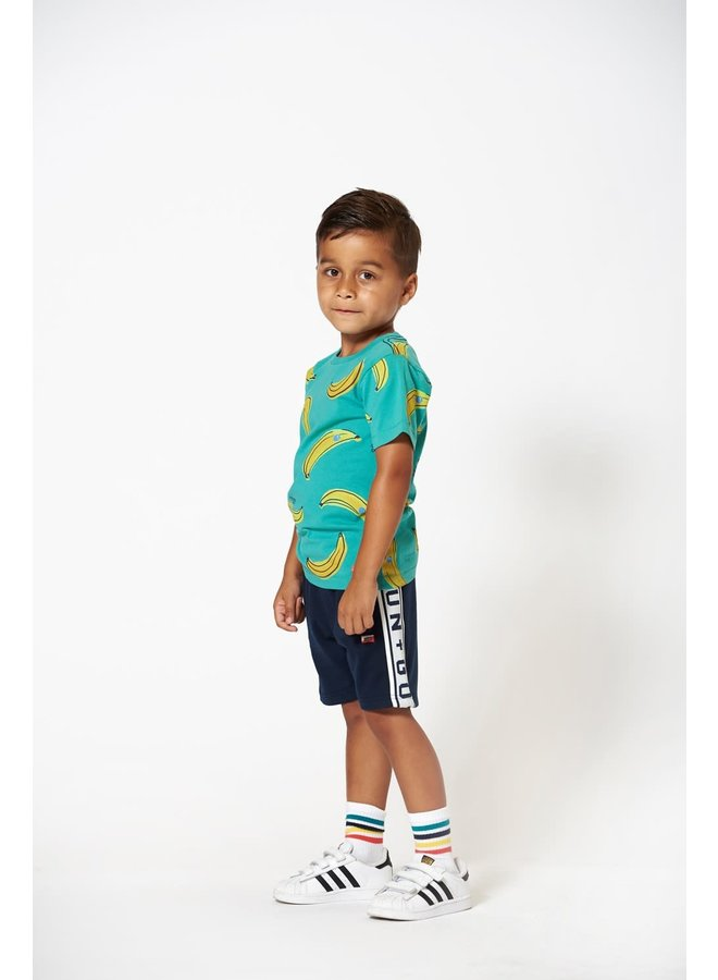 T-shirt AOP Bananas - Playground - Groen