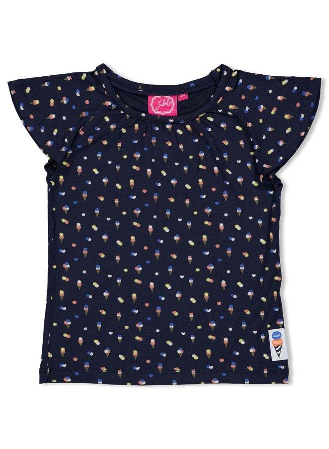 T-shirt AOP - Sweet Gelato - Marine