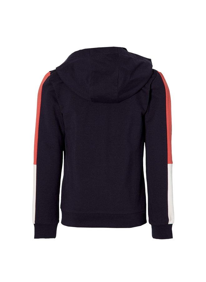 Mayzen - Hooded Sweater - Dark Blue