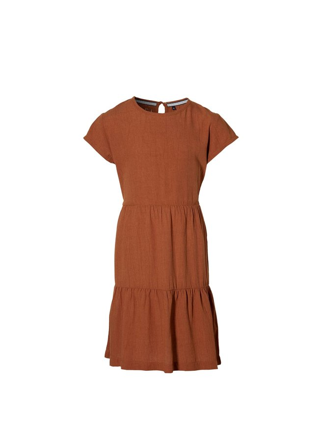 Madison - Dress - Rust