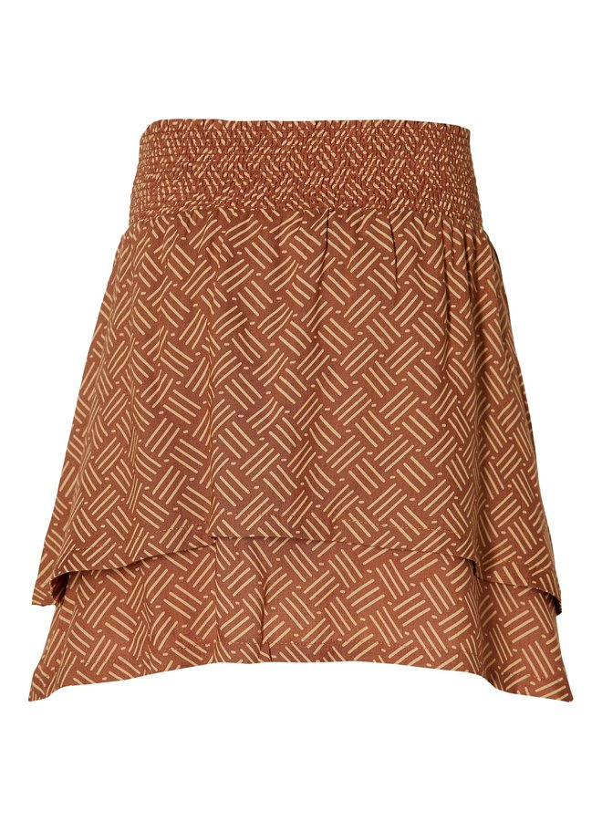Mia - Skirt - Rust Retro