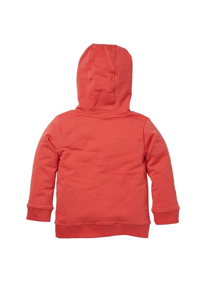Nikai - Hooded Sweater - Cranberry