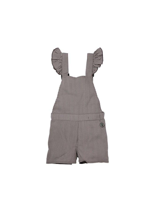 Noomi - Jumpsuit - Steel Grey Stripe