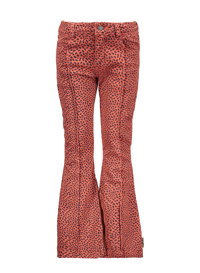 Girls - Mix Dots Flaired Pants - Mix Dots