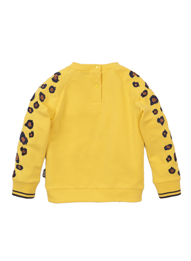 Girls Sweater ls - Yellow SS21
