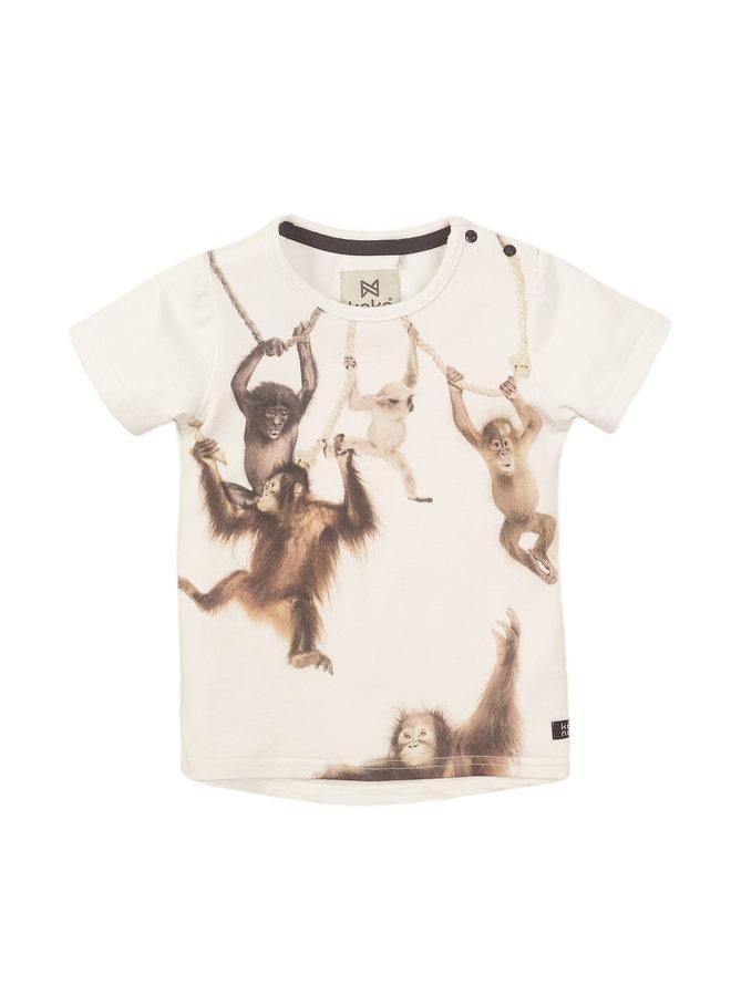 Boys T-shirt ss - White SS21