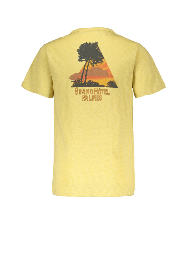 Charlie - Slub ss Tee - Hey Charlie - Summer Yellow SS21