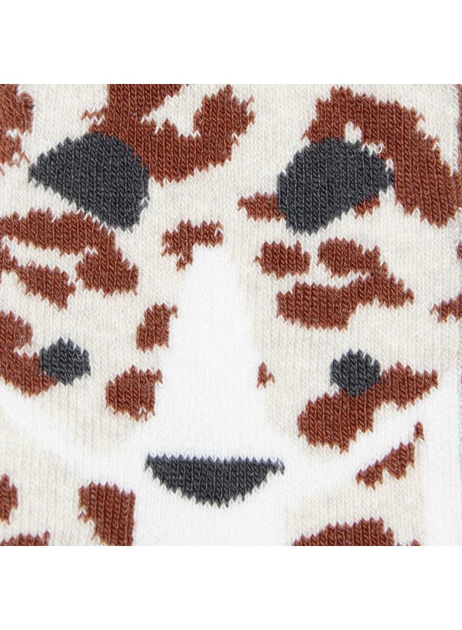 Sokken - Koper - Leopard