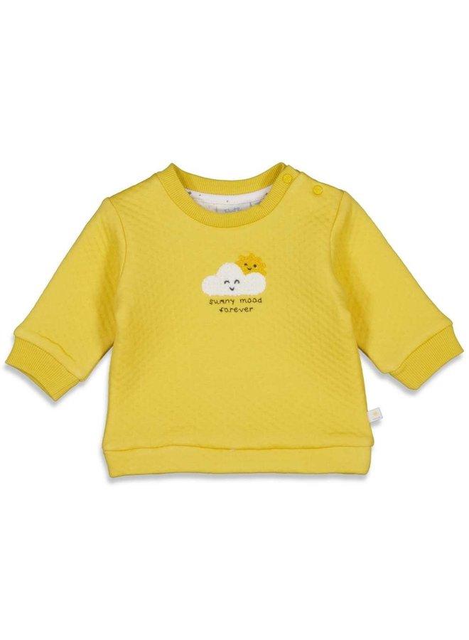 Sweater - Sunny Mood - Geel