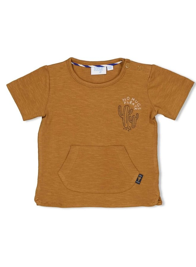 T-shirt Chill On - Looking Sharp - Camel