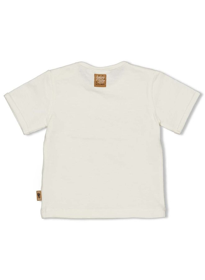 T-shirt - Looking Sharp - Offwhite
