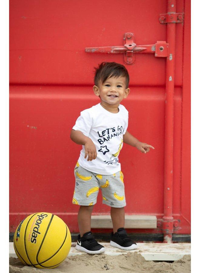 Short AOP - Playground - Grijs melange