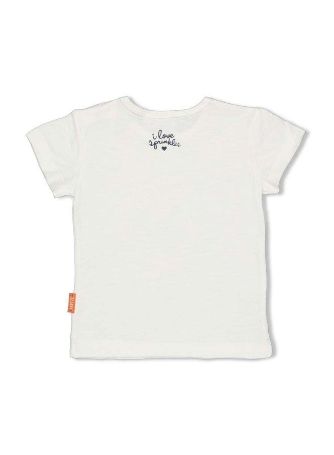 T-shirt - Sweet Gelato - Offwhite